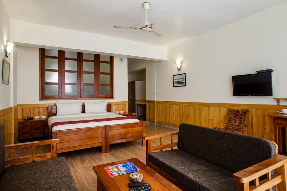 The buransh deluxe room
